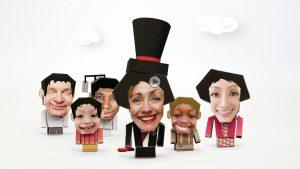 Hillary in a cartoon Series !