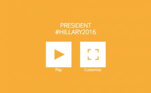 #Hillary2016 logo customize