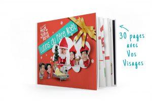Un super Livre d'histoires à personnaliser avec les photos de la famille