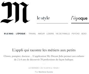 Lemonde.fr ToonYou et Zouzous