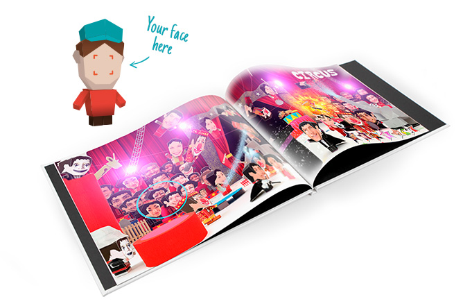 Personalize your book for free